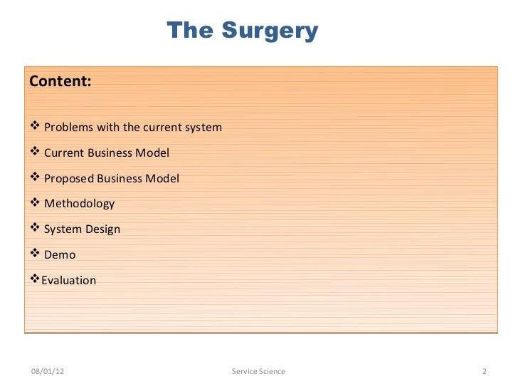 I surgery service design blueprint malvernweather Choice Image