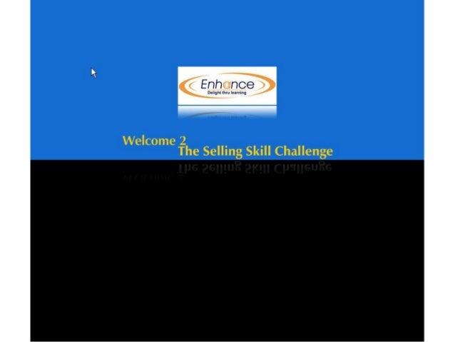Demo: Selling Challenge
