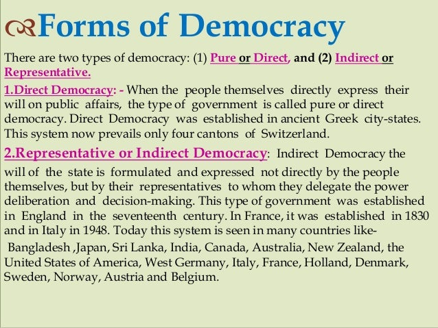 what are the basic principles of democracy