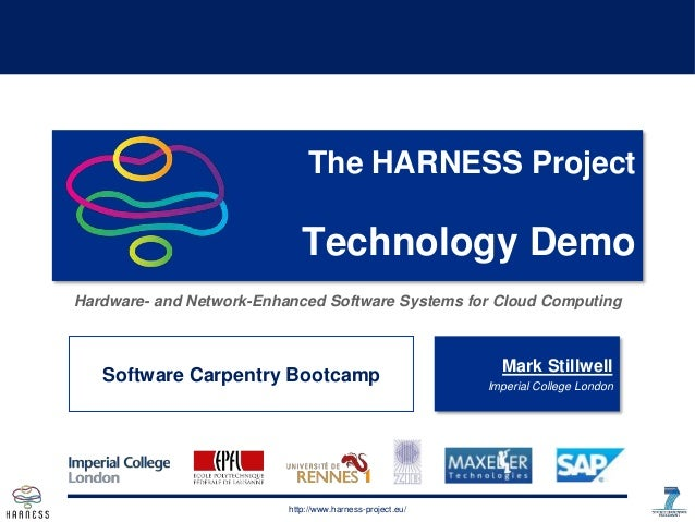 http://www.harness-project.euhttp://www.harness-project.eu/ The HARNESS Project Technology Demo Hardware- and Network-Enha...