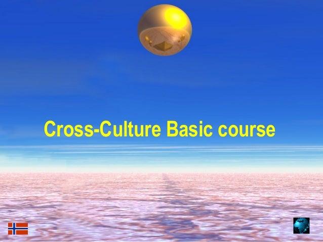 Cross-Culture Basic course01/07/13   gf2000     1