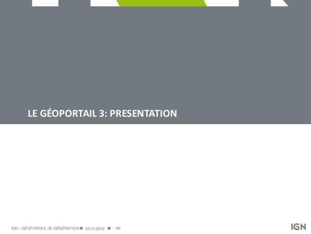 Demo2: Valorisation du patrimoine naturel et culturel grâce à l'API du Géoportail Slide 3