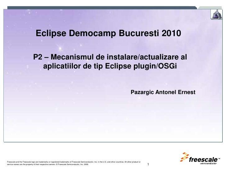 Democamp Bucharest 2010   P2 Ro