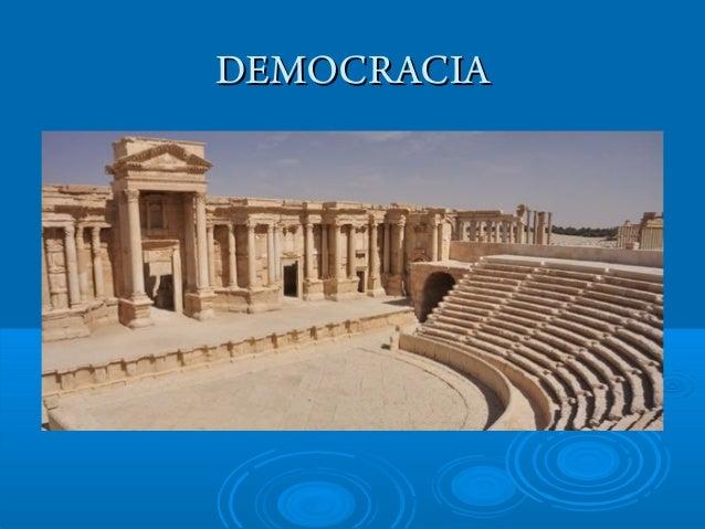 DEMOCRACIADEMOCRACIA