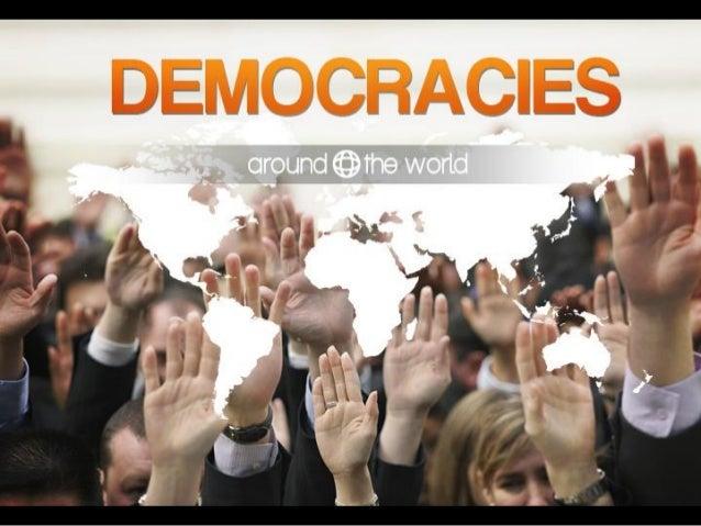 Democracies around the world