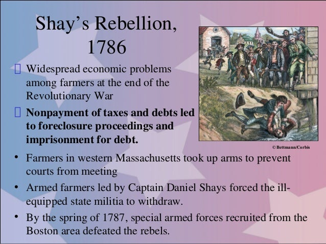 Shays' Rebellion - HISTORY