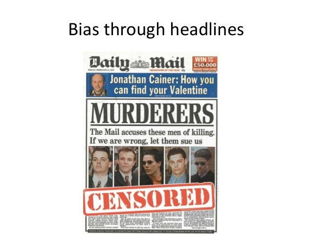 Premise Indicator Words: Democracy Dissent And Bias In News Media
