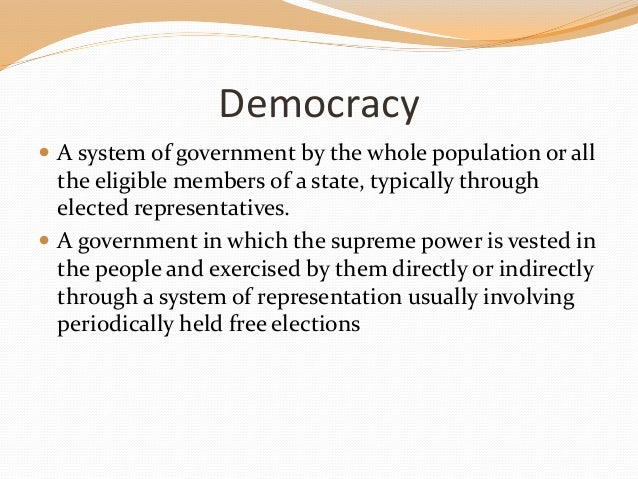 role of education in democracy