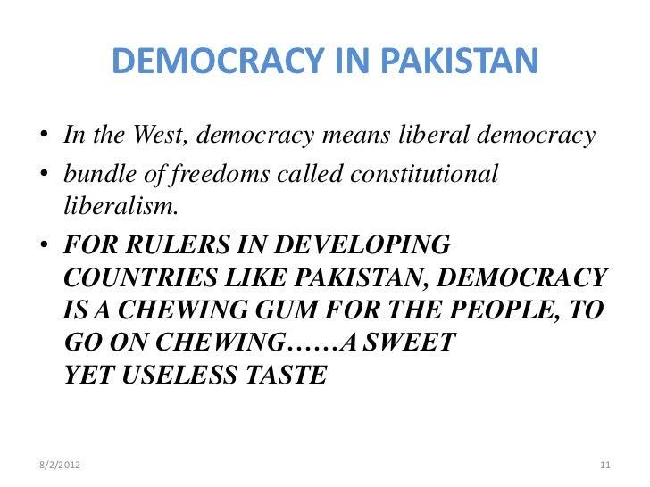Challenges to democracy essay in urdu