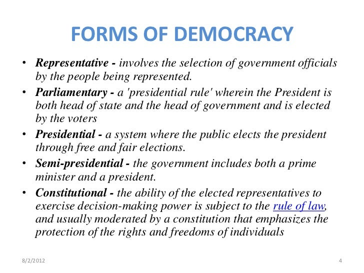 Democratic World Government - An Outline Structure