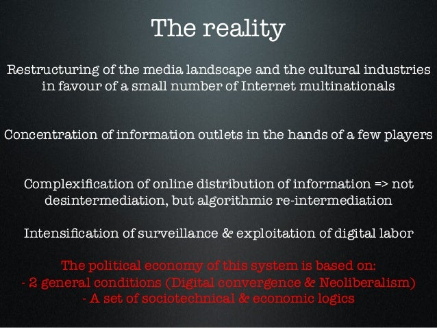 A Critique of the Internet Oligopoly Slide 3