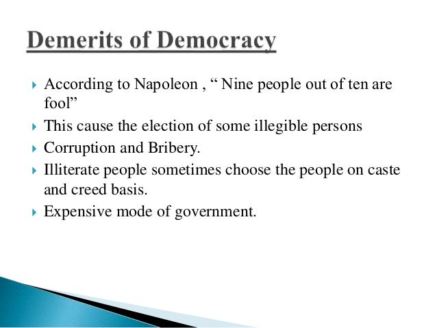autocracy versus democracy Dictatorship vs autocracy  we are used to democracies as political systems in the civilized world, as it is considered the best form of governance these days.