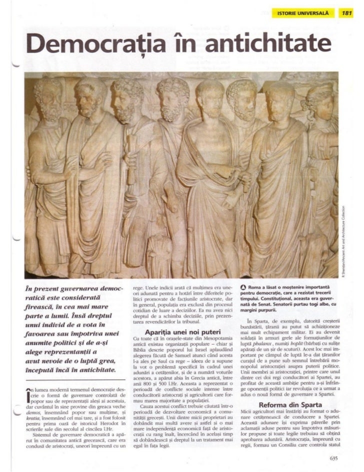 Democratia in antichitate
