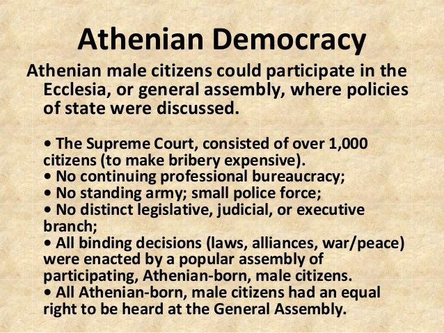 greeks democracy and american democracy essay The origins of democracy lie in ancient greece in a definition essay, you explain the meaning of a certain term by giving a detailed description of it.
