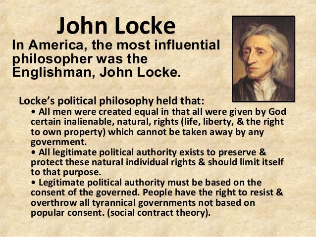 john lockes theory of property What is john locke's theory of natural rights and justification for a liberty and property the theory mandates that the highest — john locke.