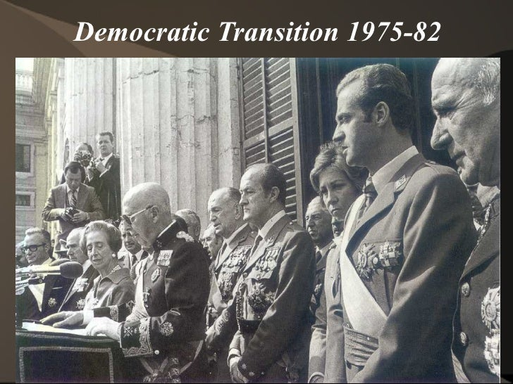 Democratic Transition 1975-82