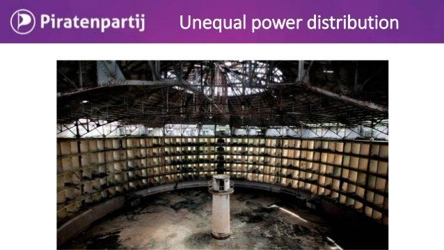 Unequal power distribution