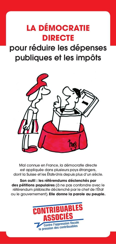 Notre objet  En France, la démocratie est confisquée • Article 6 de la déclaration des droits de l'homme et du citoyen : L...