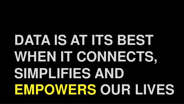 Democratising data by igniting a crowd powered movement. Slide 3
