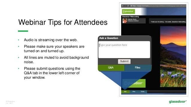 Glassdoor UK- Live Demo: Managing Your Employer Brand Slide 2
