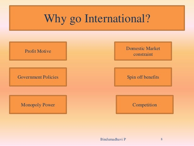 how can international marketing benefit domestic countries The undertaking of this study is to analyze the different benefits and problems of international trade to which a country benefits domestic competitiveness.