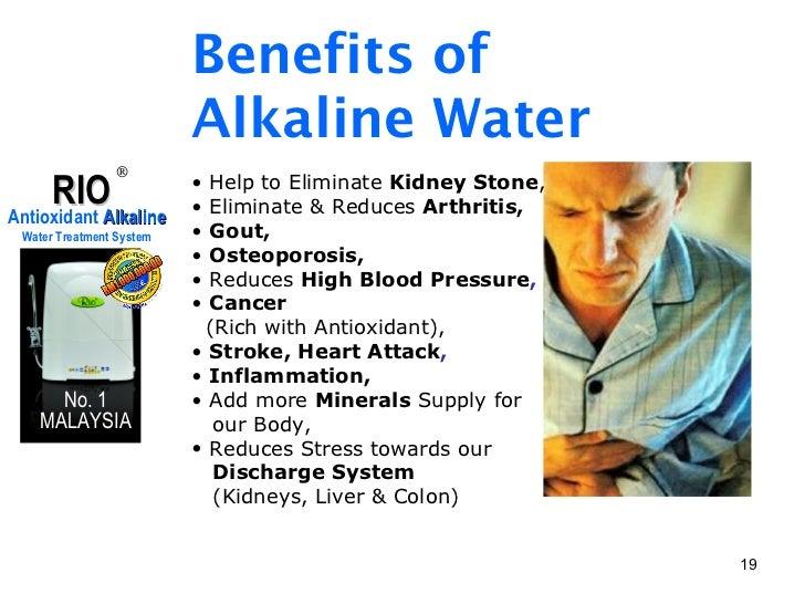 Kangen water benefits cancer