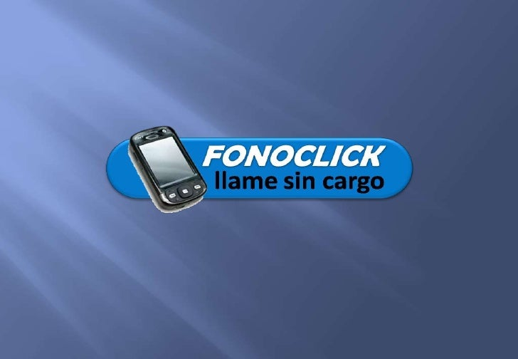 Fonoclick: teléfono a teléfono