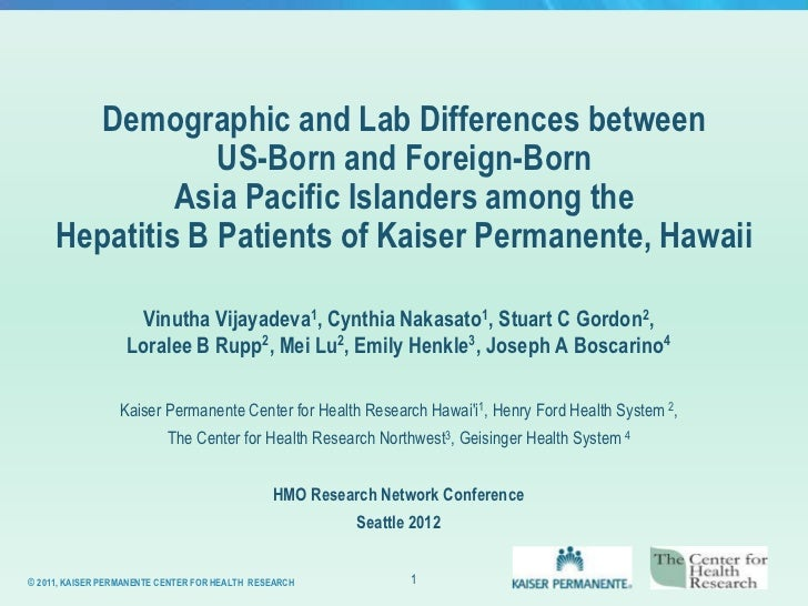Demographic and Lab Differences between                 US-Born and Foreign-Born              Asia Pacific Islanders among...