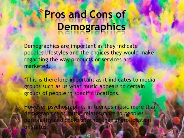 importance of psychographics What is the importance of demographic and psychographic information in developing marketing communications.