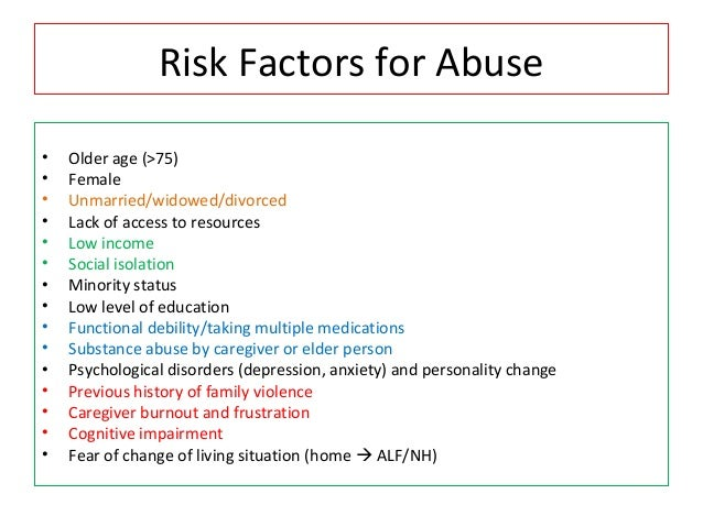 psychological factors and substance misuse Effects on physical and psychological health and quality of life evidence suggests that many middle- and risk factors substance misuse in older people.