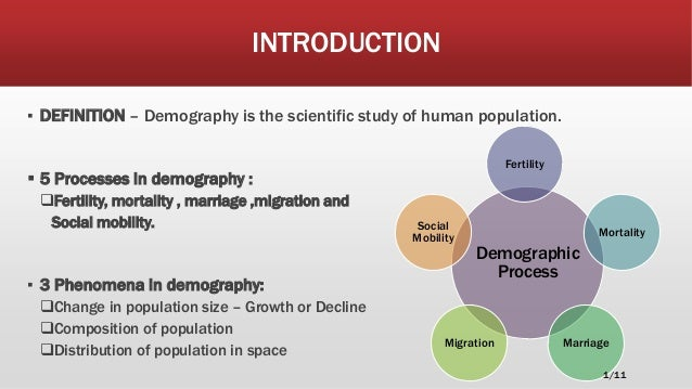 An analysis of the indian demography and crisis