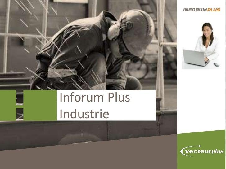 Inforum PlusIndustrie
