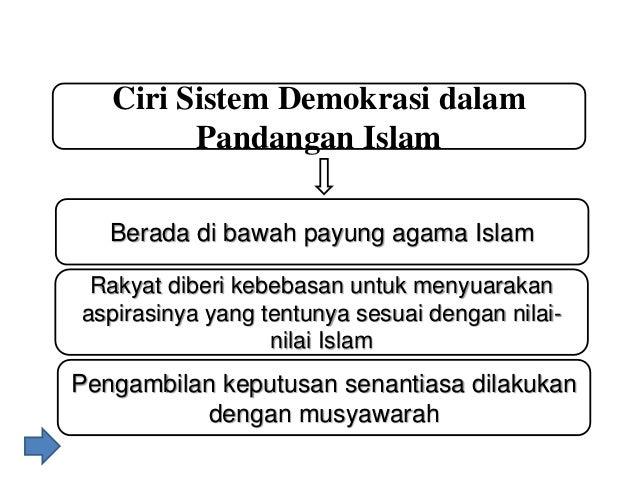 Pengertian Demokrasi Dalam Agama Islam Contoh Surat
