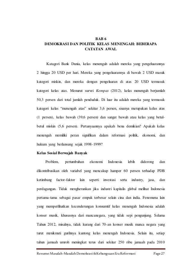 resume demokrasi resume demokrasi indonesia osclues com resume