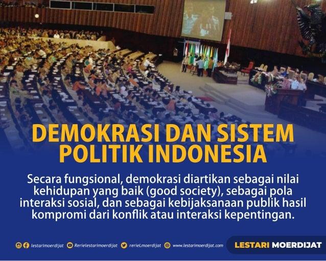 Demokrasi dan Sistem Politik Indonesia