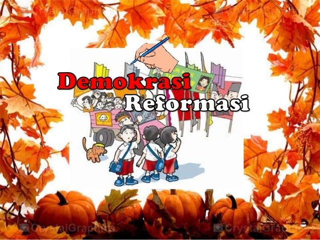 """Pengertian Demokrasi        Secara etimologis """"demokrasi"""" terdiri dari dua kata yang berasal daribahasa Yunani yaitu """"demo..."""