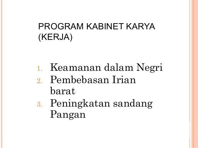 TINDAKAN SOEKARNO TERHADAP ABRI  TNI dan Polisi disatukan tahun 1946  Presiden Soekarno melakukan politik imbangan (Bala...
