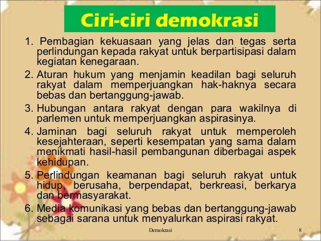 Demokrasi Untuk Pegangan Siswa
