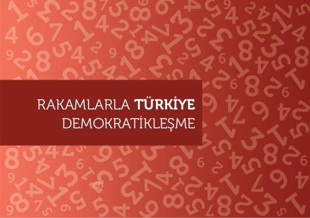 RAKAMLARLA TÜRKIYE  DEMOKRATIKLESME