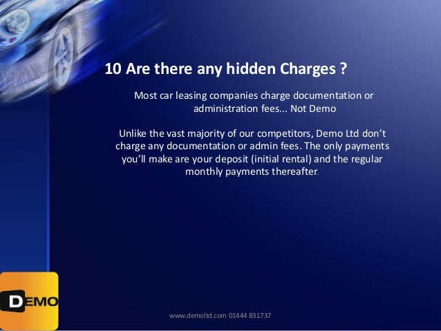 Rental Car Companies That Don T Charge A Deposit