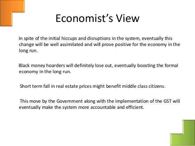 Demonitisation and its effect on indian economy