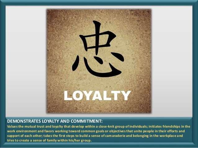 Competency Snapshot Demonstrates Loyalty And Commitment