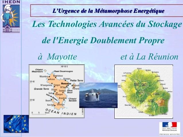 L'Urgence de la Métamorphose EnergétiqueL'Urgence de la Métamorphose EnergétiqueLes Technologies Avancées du Stockagede lE...