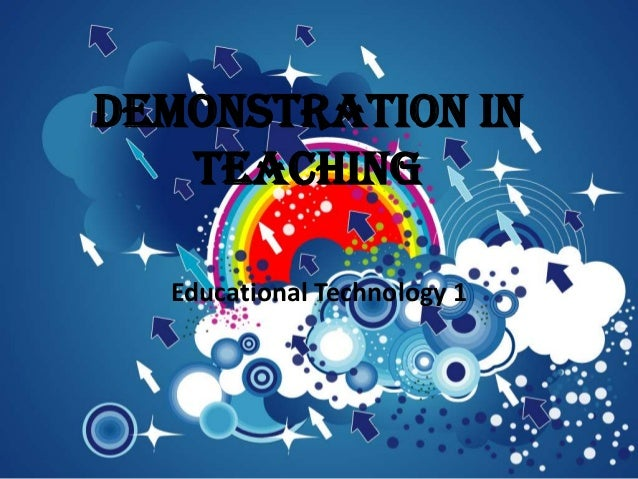 Quiz 3 - Lesson 10, Demonstrations In Teaching