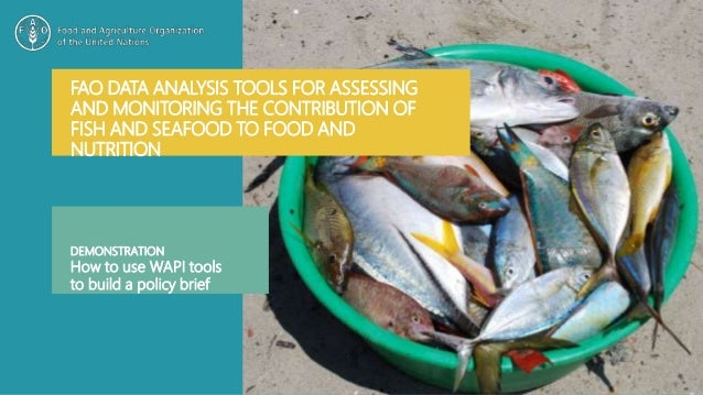 FAO DATA ANALYSIS TOOLS FOR ASSESSING AND MONITORING THE CONTRIBUTION OF FISH AND SEAFOOD TO FOOD AND NUTRITION DEMONSTRAT...