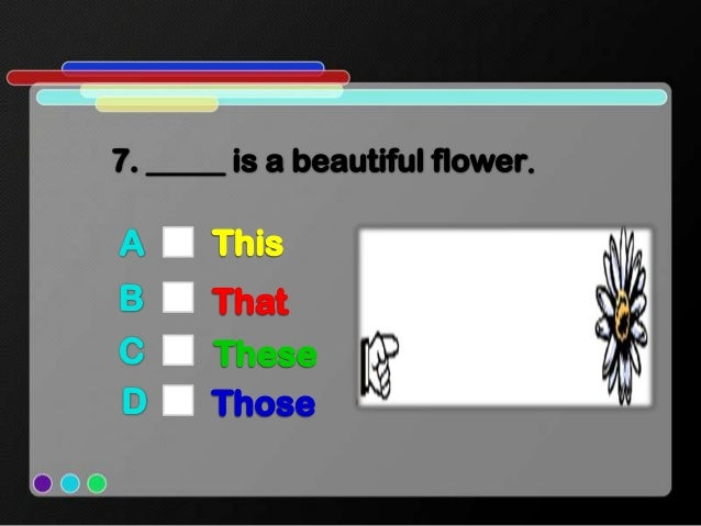 interactive activity_Demonstrative pronouns