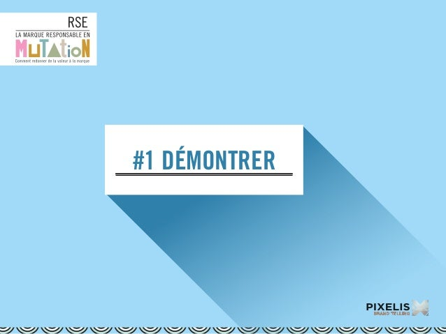 #1 DÉMONTRER
