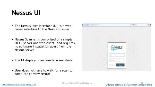 Demo of security tool nessus - Network vulnerablity scanner