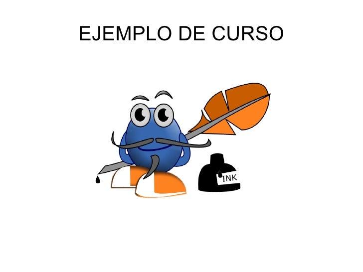EJEMPLO DE CURSO