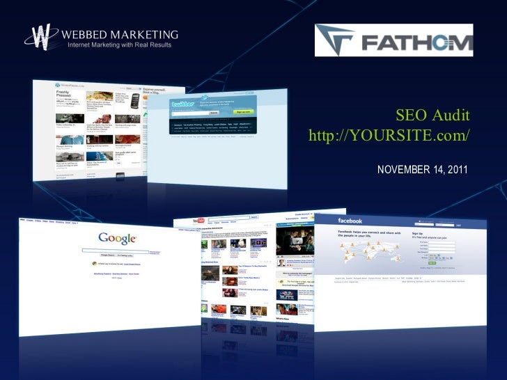 SEO Audithttp://YOURSITE.com/        NOVEMBER 14, 2011